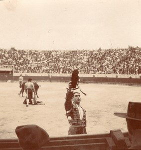 Tauromaquia bull fighting France 10 old Photos 1890'