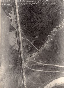Romanian Front Orient War Military aerial Photo WWI