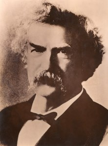 US Author Writer Mark Twain old Photo 1950'