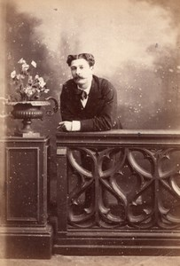 France Paris Second Empire Man Studio old CC Photo 1868