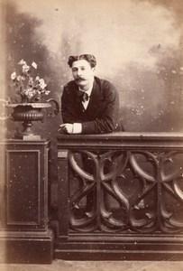 France Paris Second Empire Man Studio old CC Photo 1868