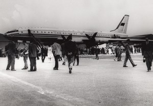 Paris Le Bourget Exhibition Russian Plane Photo 1959