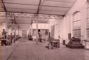 Aachen German Electricity Factory old Otto Photo 1895