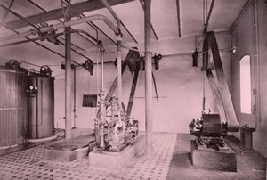 Aachen Deutsche Elektrizitäts Werke old Otto Photo 1895