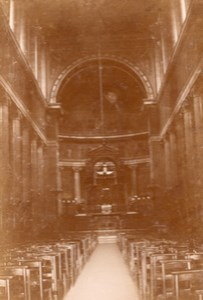 Paris St Vincent de Paul Church old snapshot Photo 1899