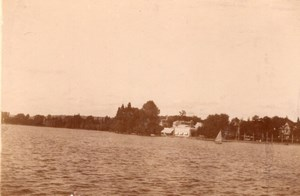 Enghien les Bains Casino Lake old snapshot Photo 1899