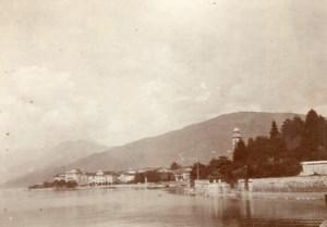 Italy Maggiore Lake Pallanza View snapshot Photo 1899
