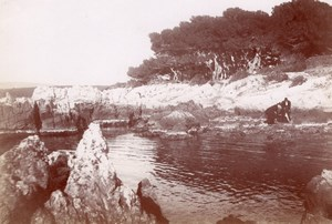 St Honorat Isle old Couton Instantaneous Photo 1896