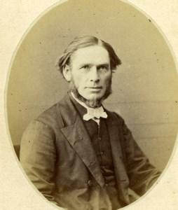 Reverand Rendall Bayswater old CDV Photo 1870'