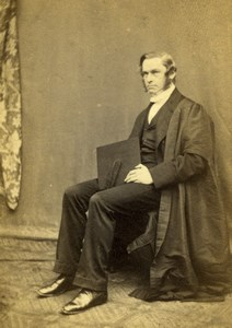 Harrow Master Rendall Family old CDV Photo 1870'