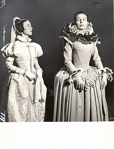 Marie Stuart Sylvia Montfort Theater Photo Bernand 1956