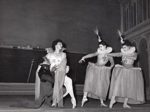 SEBASTIEN Cuevas Ballet Dancers Lipnitzki Photo 1960'