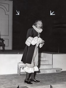 Jean Vilar Molière l'Avare Theater Lipnitzki Photo 1952
