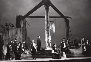 Le Bal Masqué Verdi French Opera Roger Pic Photo 1960