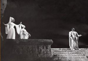 Jean Cocteau Renaud Armide Baalbek Lebanon Photo 1962
