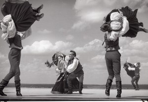 Poland Slask Ballet Folk Dancers Zaiks Photo 1958