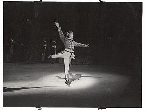 Bonaparte John Gilpin Ballet Dancer old Lido Photo 1960