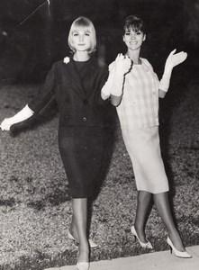 French Woman Fashion Model Tartarin Billet Photo 1960