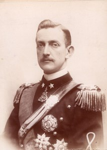 Duke of Aoste Emmanuel of Savoy Cabinet Card Photo 1895