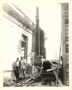 Cuba La Habana Disaster El Cyclon del 26 old Photo 1926
