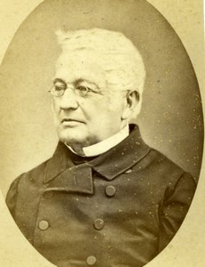 Political Adolphe Thiers France old CDV Jacotin 1860'