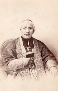 Cardinal Morlot Paris Bishop France CDV Jacotin 1860'