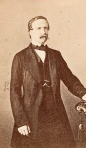 Duc d'Aumale Orleans Prince old CDV Photo 1860'
