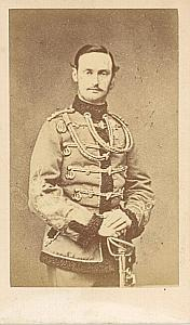 Denmark Prince Frederic VIII old CDV Photo 1860'