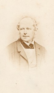 Count of Benst Prussian Foreign Minister CDV Photo 1860