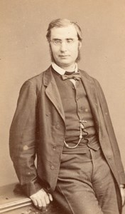 French Politician E Ollivier CDV Reutlinger Photo 1860'