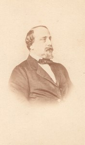 Henri V Comte de Chambord old Franck CDV Photo 1860'