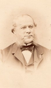 Minister Pouyer Querlier old Franck CDV Photo 1865'