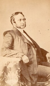 French Politician Eugene Rouher Pierson CDV Photo 1860'