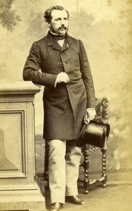 French Politician Talhouet Roy, Pierson CDV Photo 1860'