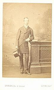 Architect Louis Victor Louvet, Levitsky CDV Photo 1865