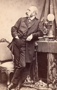 French politician Ledru Rollin France CDV Photo 1865'
