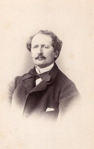 Paul Schlumberger Mulhouse old CDV Photo 1865'