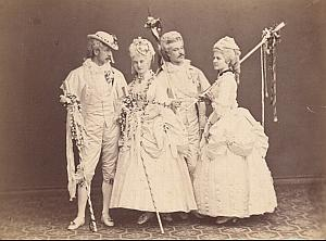 Austrian Society Stage Play Vienna Adle CC Photo 1869