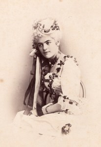 Countess Alice Flarnoncourt Wien Old Adèle CC Phot 1869