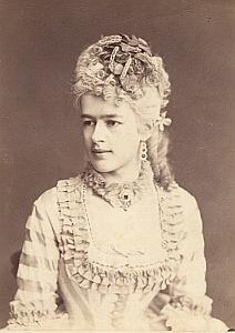 Countess Clarice Kinsky Wien Old Adèle CC Photo 1869