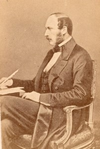 Prince Consort Albert United Kingdom old CDV Photo 1865