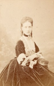 Great Britain Princess de Galles Levitsky CDV Photo 1865'
