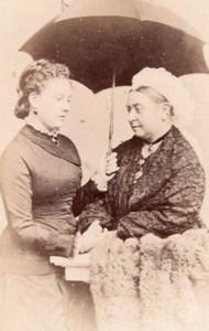 Great Britain Queen Victoria & Beatrice CDV Photo 1865'