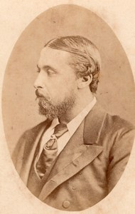 Great Britain Royalty Prince Alfred old CDV Photo 1865'