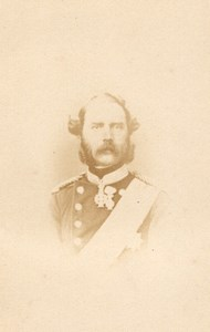 Denmark Royalty King Christian IX old CDV Photo 1865
