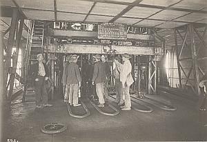 Coal Mine Worker Eletricity Lens France old Photo 1920
