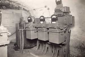 Coal Mine Mining Eletricity Lens France old Photo 1920