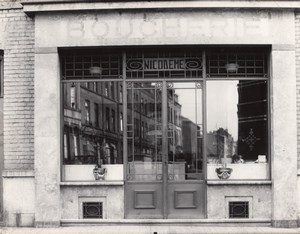 Butcher Shop Photographer Ghost France Photo 1930