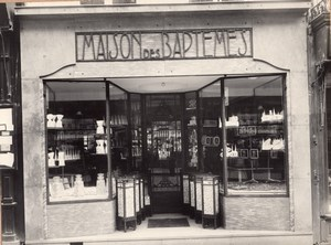 Candy Shop Photographer Reflection France Photo 1930