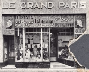Baby Linen Shop Dolls Lille France Jacquart Photo 1930